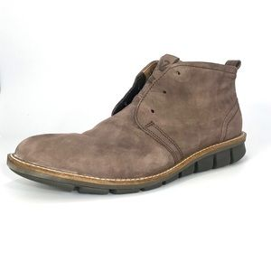 Men's ECCO Leather Jeremy Hybrid Chukka Boot sz 10